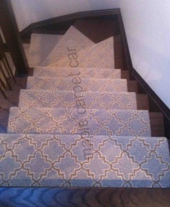 Geometric Wool Stair Runners Toronto