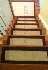 Modern Sisal Stair Treads and Rugs Sales and Installation