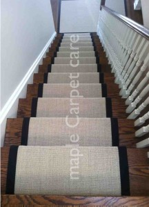 Customize Sisal Stairs and Hallway Runners and Matching Rugs