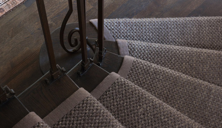 Stair Runner Edge Finishing