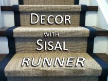 Sisal Stair Runner Toronto