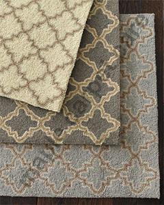 Geometric Wool Rugs and Runner