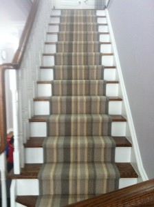 Staircase Runner Wool Carpet runner on stairs