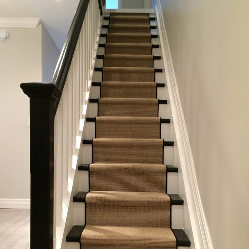 Stair Carpet Runner in Oakville